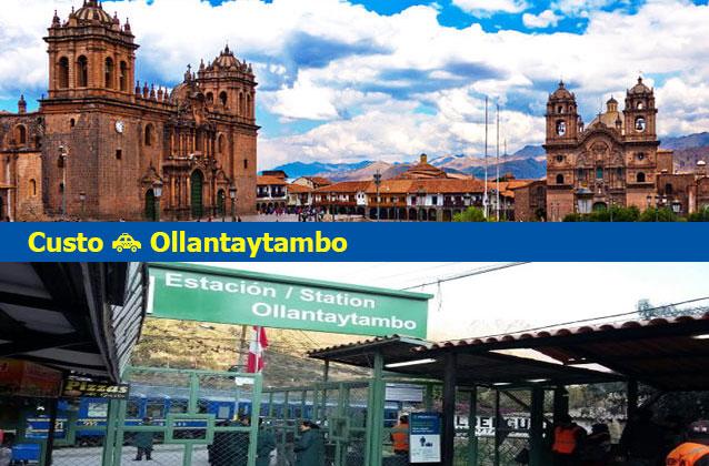 Trasporto da Cusco a Ollantaytambo