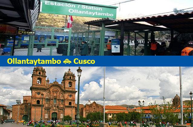 Transporte de Ollantaytambo para Cusco